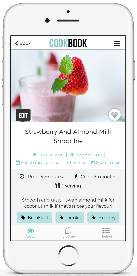 the cookbook app recipe manager for ios android and online with ocr